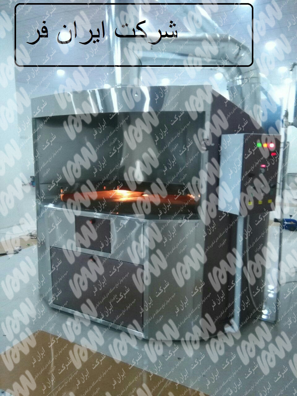 دستگاه دوار پخت نان