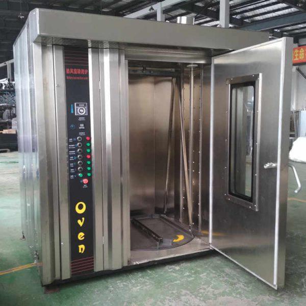 تولید کننده فر قنادی ۳۲ دیس گردان با سیستم بخار